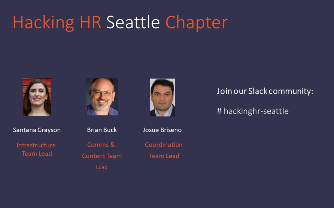 HRCitizen & Hacking HR Seattle